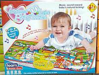 """Музыкальный развивающий коврик """"Animal musical playmat"""", 1+, (LX-6011A), фото 1"""