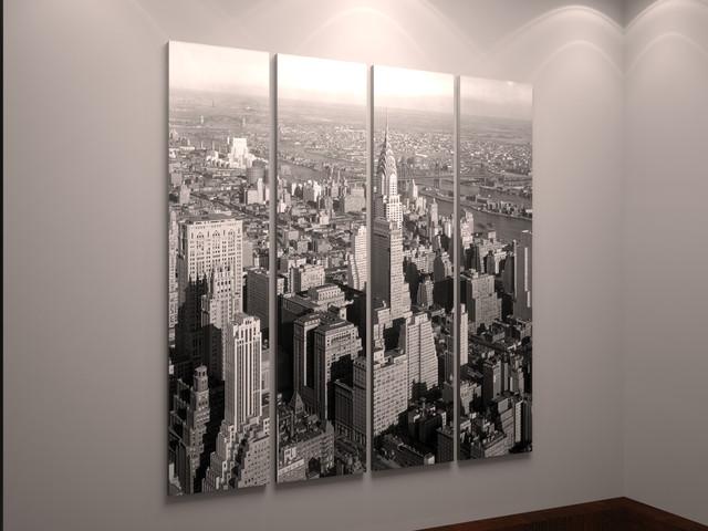 Города и архитектура картины модульные