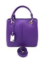 Женская сумка Laura Biaggi (0442 purple) leather