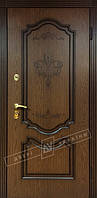 Двери входные в квартиру ТМ Двери Украины модель Престиж  Белорусский Стандарт 2 Комплектация 1