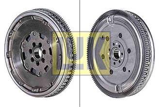 Двухмассовый маховик сцепления на Renault Kangoo II 1.5dCi 2008-> — Luk (Германия) - 415040010