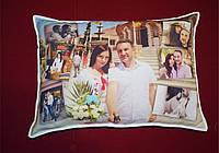 Подушка с фото 47см*34см. Печать с двух сторон
