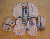 Крестильные комплекты для мальчиков Наборы для крестин с вышивкой, фото 1