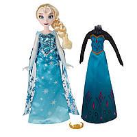Кукла Hasbro Frozen Холодное сердце Эльза со сменным нарядом (B5169-B5170)