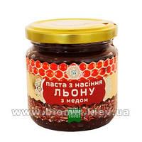 Паста из семян льна  и мёда (урбеч)