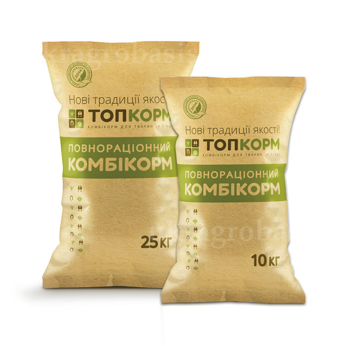 ТопКорм ПКн-1-2г комбикорм для кур-несушек от 46 до 80 недель (2 фаза)