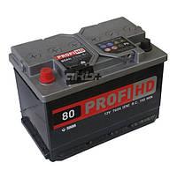 АКБ 6СТ-80АЗ (1) SADA PROFI HD
