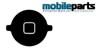 Кнопка домой (home button) для Apple iPhone 3G,3GS High Copy (Черный)
