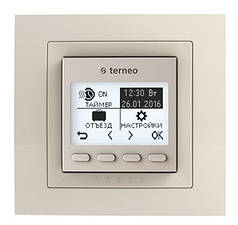 Программируемый терморегулятор для теплого пола terneo pro unic