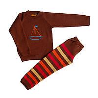 Детский теплый костюм для мальчика