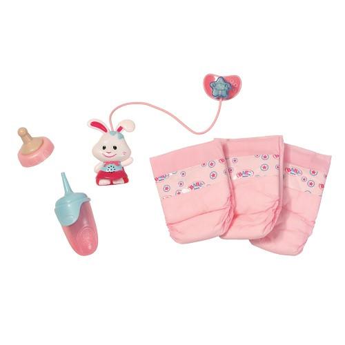 """Аксессуары для кукол «BABY born» (821459) набор аксессуаров """"Заботливый уход"""""""