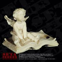 Фигурка, статуэтка, подсвечник Ангел