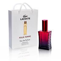 Lacoste Pour Femme (Лакост Пур Фем) в подарочной упаковке 50 мл