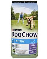 PURINA Dog Chow Puppy с ягненком 2,5kg