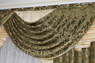 Ламбрекен из портьерной ткани Анабель, фото 3