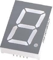 Червоний семисегментний LED індикатор FYS-15011 BS-21 (30,6*8*44) 1-розрядний FORYARD загальний анод
