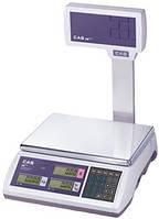 Торговые весы ER-Plus EU  (RS-232, со стойкой) (295*210)