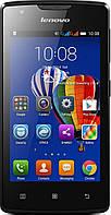 Телефон мобильный  Lenovo A1000 Black