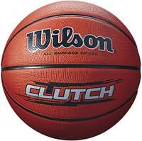 Баскетбольный мяч Wilson CLUTCH BSKT BROWN SZ7 SS16