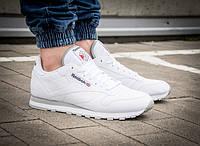 "ОРИГИНАЛ! Кроссовки Reebok Classic Leather ""White"" (2214)"