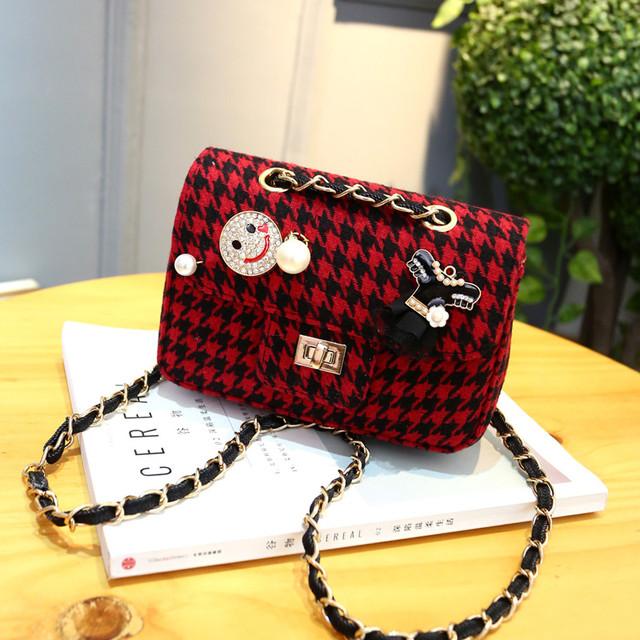женская текстильная сумочка