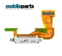 Шлейф разъем заряда (сharge connector) для Apple iPhone 3G (High Copy) (Белый)