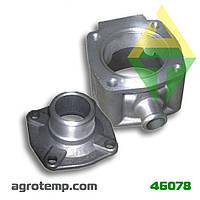 Корпус термостата с крышкой ЯМЗ-236/238 236-1306052