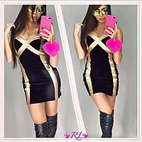 Платье бархат OL-245, фото 1