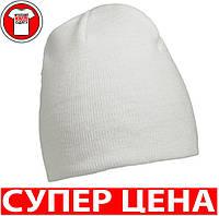 Классическая ЛЕГКАЯ ШАПОЧКА цвет БЕЛЫЙ  mb7580