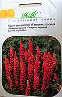 Семена цветов сорт люпин многолетний красный