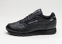 ОРИГИНАЛ! Кроссовки Reebok Classic Leather (All Black) 2267