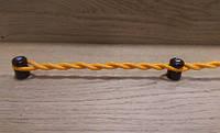 Провод для наружной электропроводки желтый с золотым