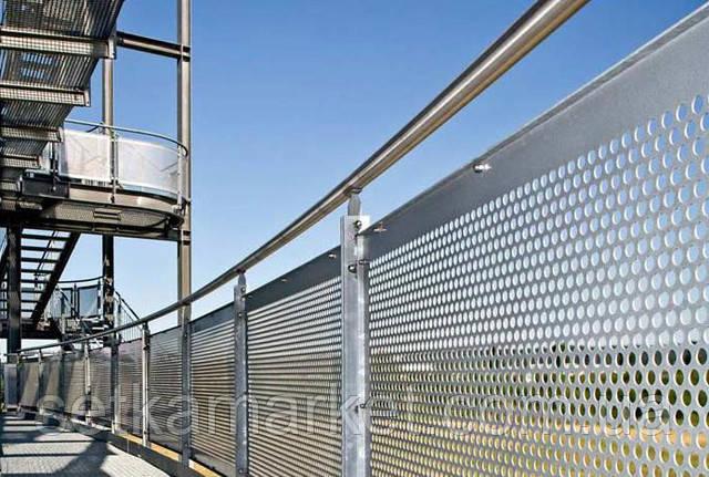 Забор из перфорации