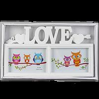 Рамка для фото с надписью Love