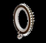 Кольцо карнизное бесшумное для штор Ø19мм, фото 3