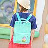 Сумка-рюкзак молодежная с принтом мороженого, фото 9