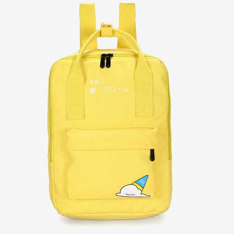 Сумка - рюкзак с модным рисунком