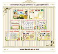 Стенды для начальной школы комплект код  S45022, фото 1