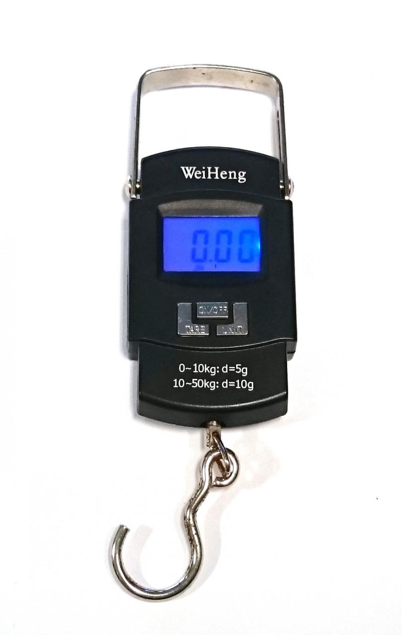Электронные цифровые весы кантер WeiHeng WH-A08 до 50 кг безмен для взвешивания
