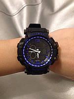 Мужские спортивные водостойкие часы G-SHOCK (копия), синие, фото 1