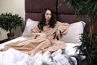 Теплое одеяло Snuggie Blanket, плед с рукавами Снагги Бланкет