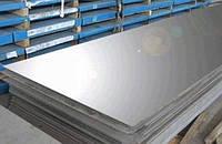 Нержавеющий лист 0,8х1250х2500мм AISI 430 (12Х17), NO4/PE(шлиф в пленке)