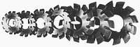 Фреза дисковая модульная m=4,0 комплект 20* Р6М5