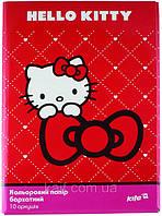Цветная бумага (бархатная) А4 KITE 2013 Hello Kitty 251