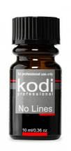 Засіб для корекції штучних нігтів Kodi Professional No Lines, 10 мл