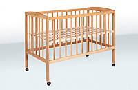 Кроватка детская Гойдалка на колесиках (бук)