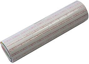 Цінники для етикет-пістолета 20х12 мм 1000 лейб білі прямокутні