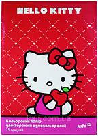 Цветная бумага (двухсторонняя) А4 KITE 2013 Hello Kitty 250 (HK13-250K)