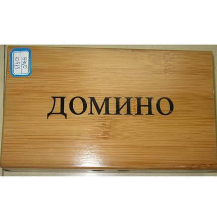 """Игра настольная """"Домино"""" (в деревянной коробке), фото 2"""