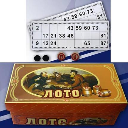 """Игра """"Лото"""" в дорогу (в картонной коробке), фото 2"""